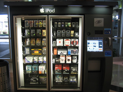 iPod vending machine | by ghewgill