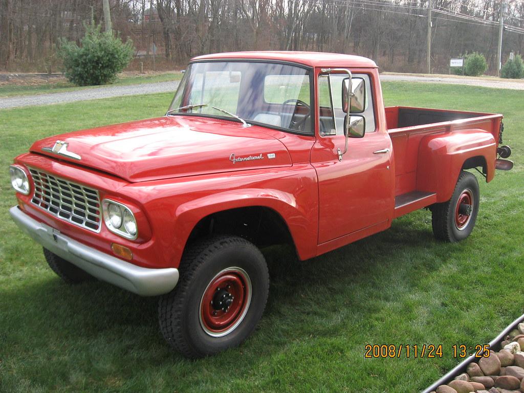 1961 International Model 1200C 3/4 Ton 4x4 Pickup   classic
