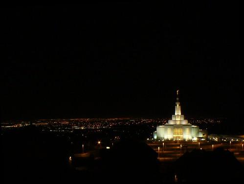 city wedding night temple ut fisheye explore saltlakecity mormon overlook lds latterdaysaints churchofjesuschristoflatterdaysaints panasonicdmcfz8 rtvance rtvancephotography