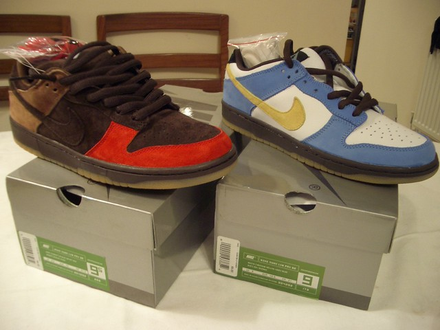 the latest 5c83b 7d997 Nike Dunk Low Pro SB 'Bison' & 'Homer'. | Gooey Wong | Flickr