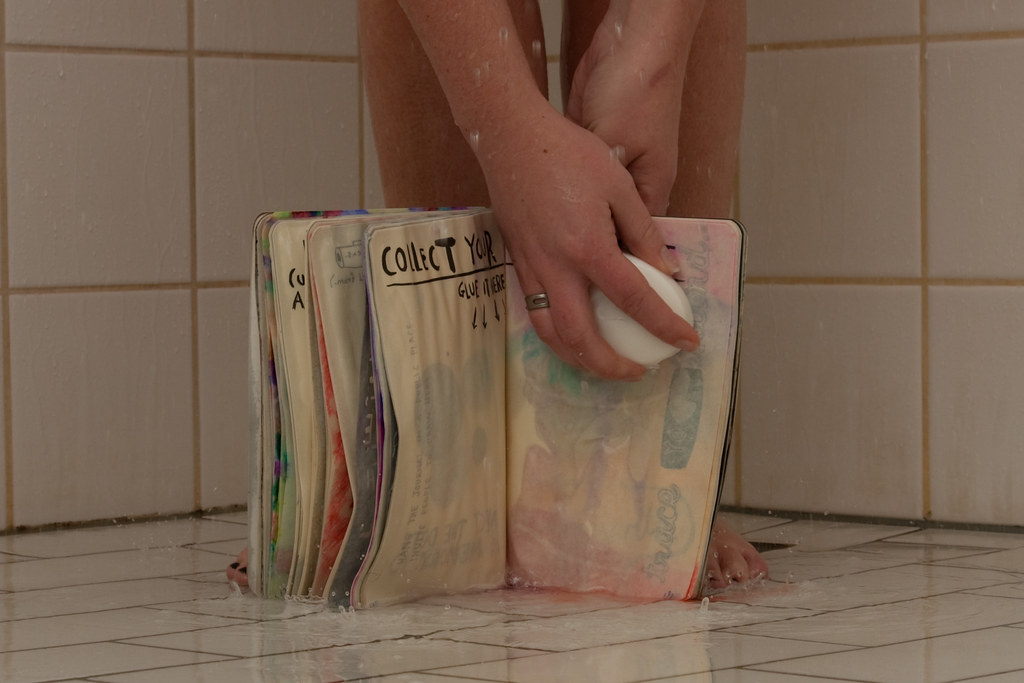 WTJ Page 77: Bring This Book In The Shower With You, with added soap!