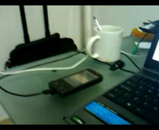 Video hecho con un HTC Magic G2 de Vodafone