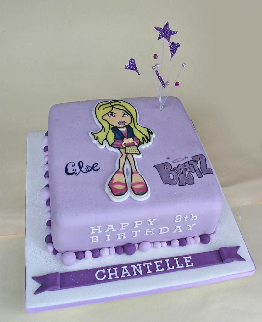 Super Birthday Cake 193 Bratz Paula Jane Bourke Flickr Personalised Birthday Cards Akebfashionlily Jamesorg