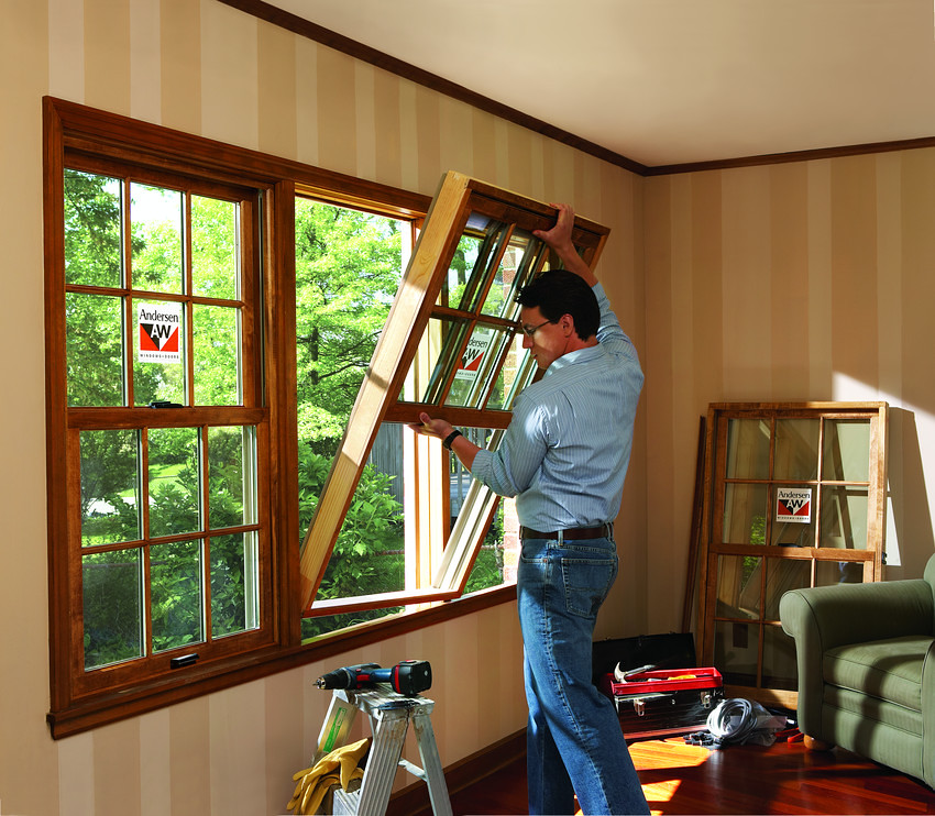 Replacement Window Installation 400 Series Woodwright