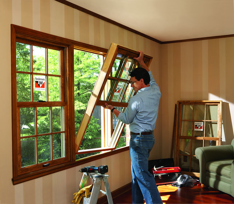 Replacement Window Installation | 400 Series Woodwright Doub… | Flickr