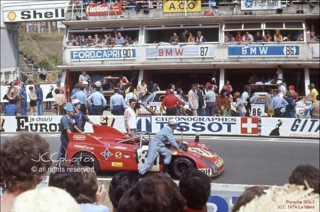 24 Heures du Mans 1974 Porsche 908 3