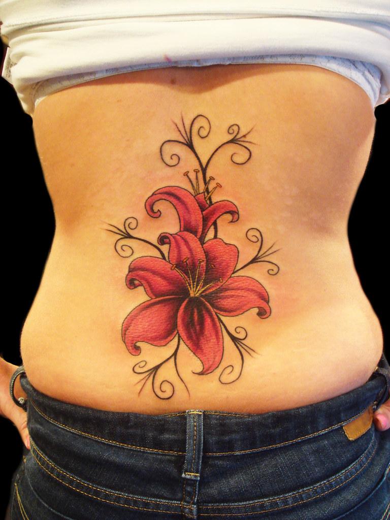 c0a4e1e15 Lily Flower tattoo | Miguel Angel Custom Tattoo Artist www.m… | Flickr