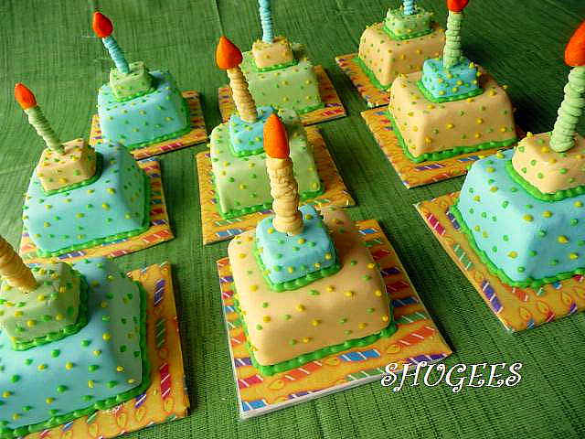 Amazing Mini Birthday Cakes Made These For The Boys In My 5 Yo Flickr Funny Birthday Cards Online Inifofree Goldxyz
