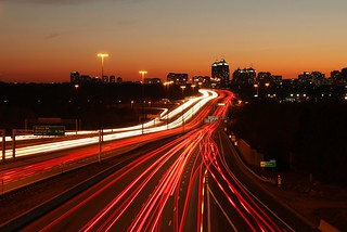 Highway 401 and Don Mills at sunset | by nayukim