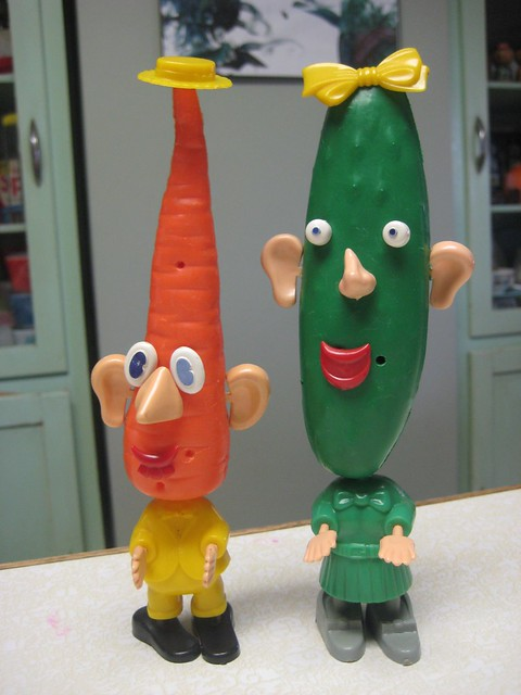 Katie Carrot & Cooky The Cucumber