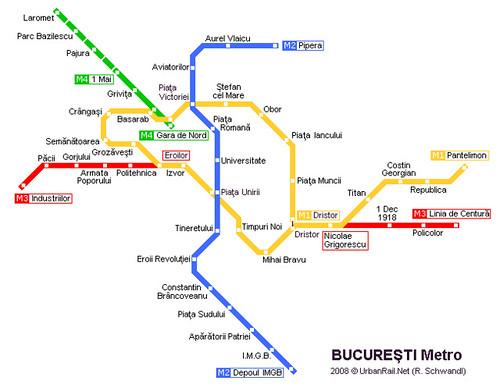 Harta Metro Bucuresti Metrorex Andrei Flickr