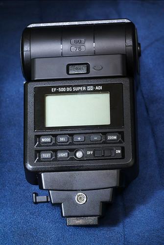 Sigma EF-500 DG Super PC-sync port modification | by Arkku