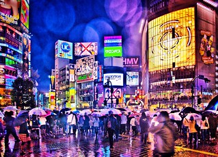 Shibuya, same place different life and colours | by @Kata U