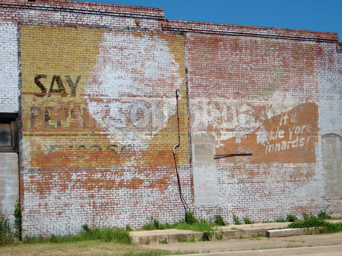 Mt. Dew Ghost Sign, Ardmore, OK