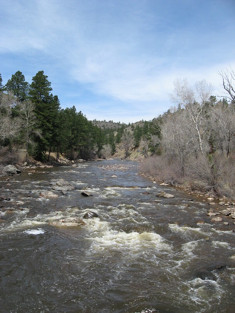 River at Mountain Park Campground