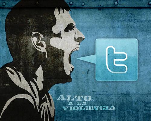 Alto a la Violencia   by Rosaura Ochoa