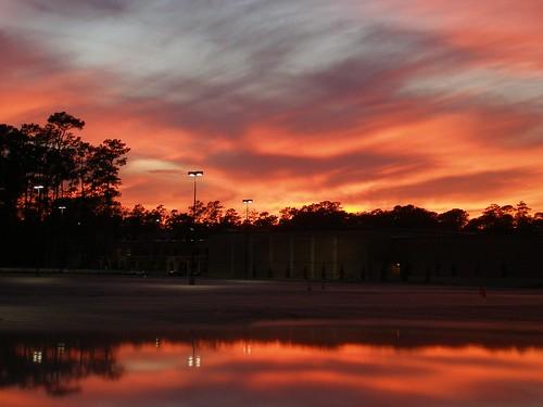 sunset night texas cloudy kingwood olympus8 regionwide yahooprojectweather