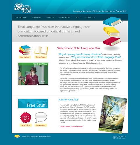 Total Language Plus Website Design