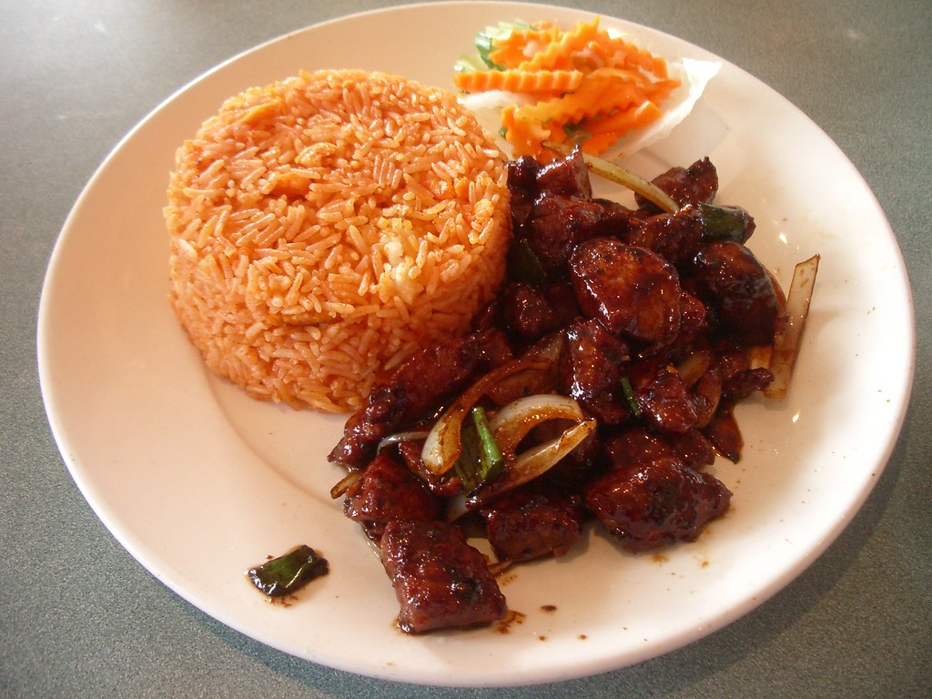 Beef and Tomato Rice