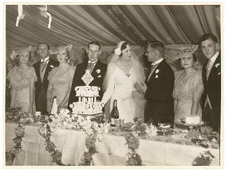Society wedding reception (Meeks and Hordern families), Sydney, February 1936 / Sam Hood | by State Library of New South Wales collection