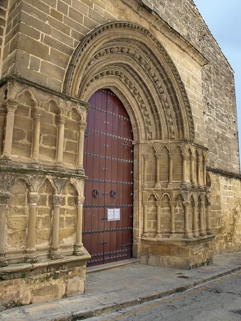 Úbeda (Jaén). Iglesia de San Pablo. Portada occidental