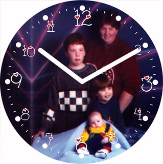 Darla's Family Clock | by customclockface