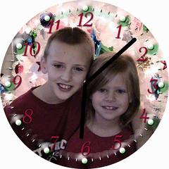 Christmas 2008 Clock | by customclockface
