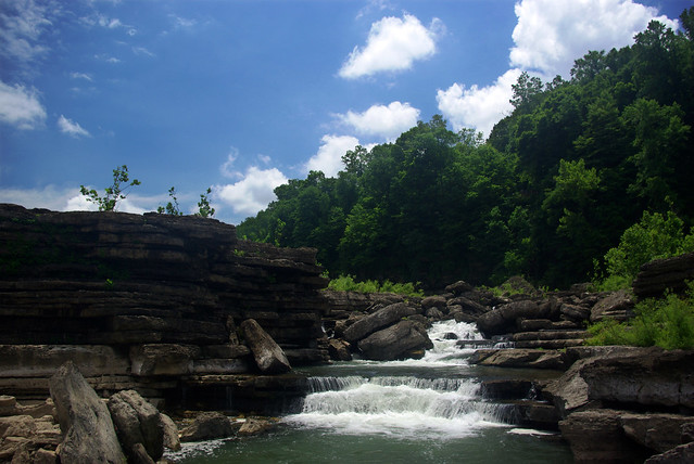 Rapids, Rock Island State Park, Warren and White Co, TN