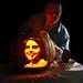 Carl O' Lantern-- Caleb's Sagan pumpkin by SaganGathering