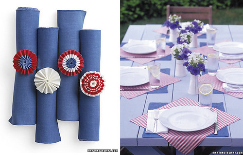 Fourth of July Napkin Crafts | by katy elliott