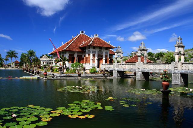 Soekasada Palace or Water Palace, Karang Asem, Bali