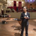 [Foto's: Hans van Egdom] Tijdens de 12 Hour Prom van het Holland Festival 2015 speelde Slagwerk Den Haag met 33 slagwerkers 'Inuksuit' van John Luther Adams in het Concertgebouw Amsterdam