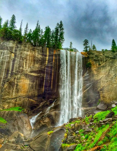 Vernal Falls, Yosemite National Park