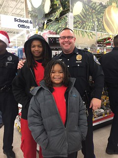 December 2016 Shop with a Cop | by speedwaycommunitypolicing