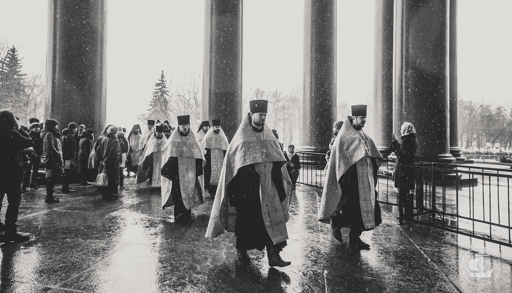 19 февраля 2017, День православной молодежи в Исаакиевском соборе / 19 February 2017, The Day of Orthodox youth in the Saint Isaac's Cathedral