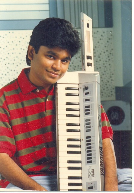 Image result for a.r rahman young