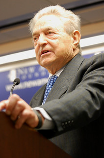 George Soros | by New America