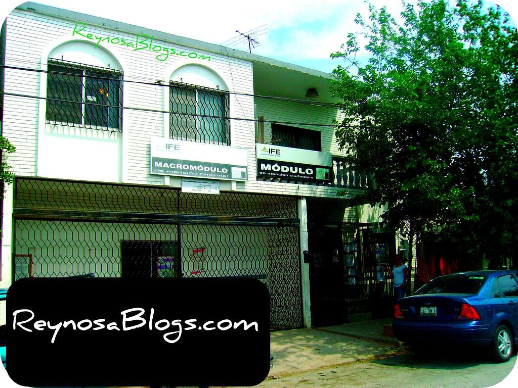 Ife Reynosa Www Reynosablogs Com Modulo Del Ife En Reynosa