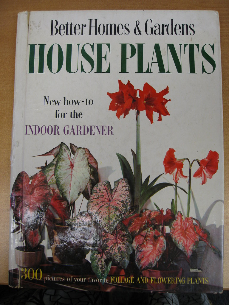 Vintage Garden Book Better Homes And Gardens House Pla Flickr