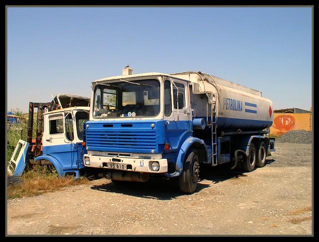 Petrolina Leyland Bison tanker