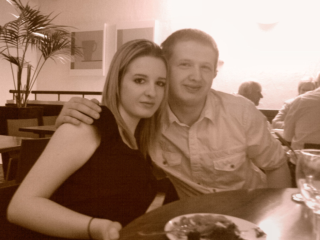 0412 Laura And Tim At Pizza Express In South Woodford L