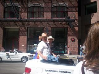 """John Ryckman and Tory Hartmann, friends of Harvey Milk. Both are in my """"San Francisco's Castro"""" photo history"""