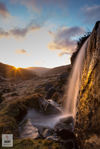 ireland sunrise canon dawn waterfall stream glendalough valley 5d wicklow mkiii 2470 glendason 312a0670