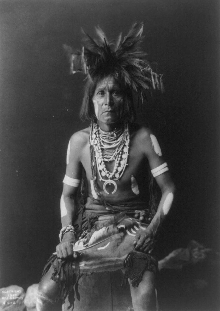 Edward Curtis Native American Photo Snake priest