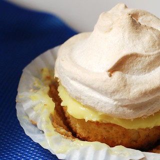 Lemon meringue cupcakes. | by a.meadowlark