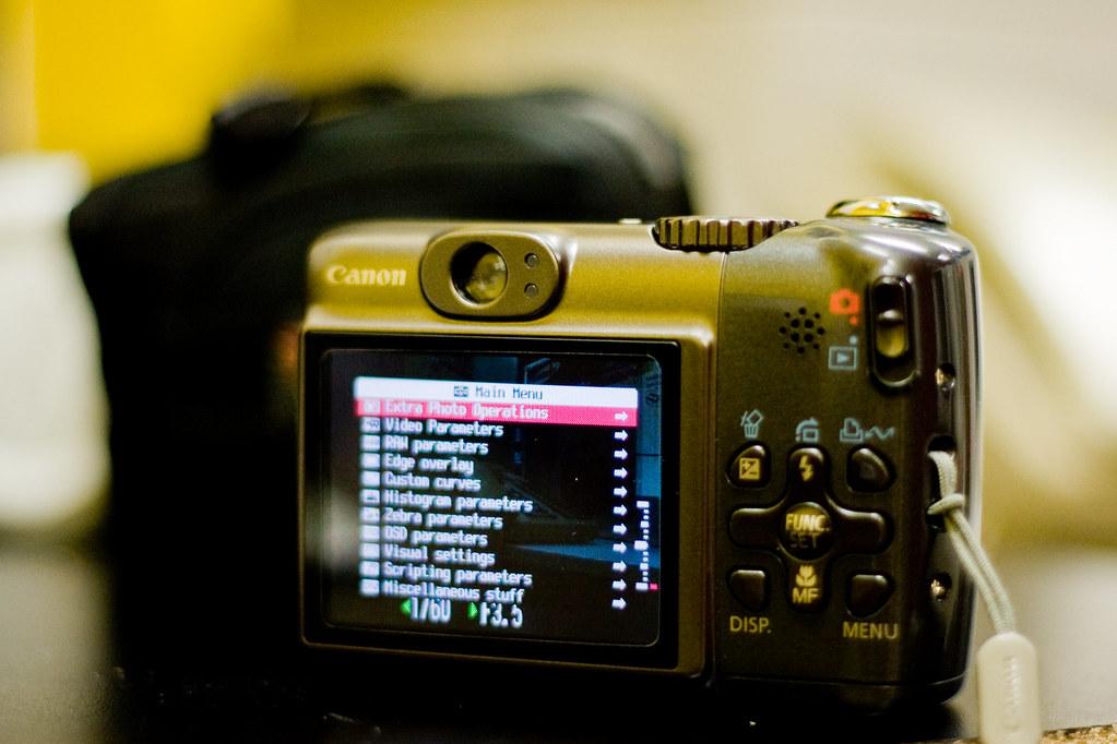 2009 - 73/365 - CHDK Hacking on a A590 !