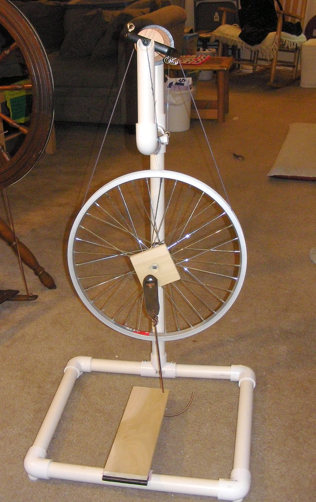 DIY Spinning Wheel | Same as before  This one just has an im