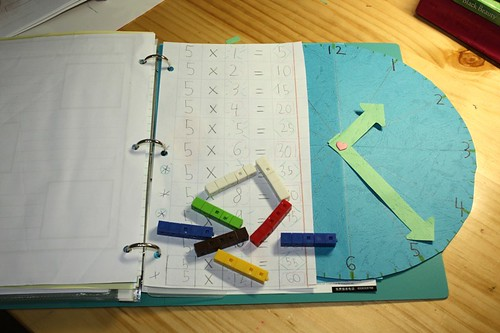 math notebooking times five | by jimmiehomeschoolmom