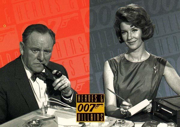 Bernard Lee M & Lois Maxwell Miss Moneypenny | Bernard L… | Flickr