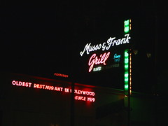 """Musso & Frank Grill 